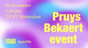 https://www.archined.nl/2019/11/het-pruys-bekaert-event-een-avond-vol-kritiek/